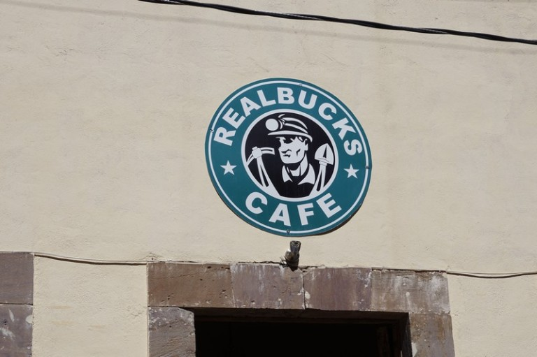 Love this coffee shop logo